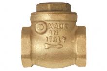 Обратный клапан горизонтальный 1 1/2 Kalde/Какпак   5628