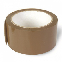 Скотч коричневый 50 мм,45 мкм Россия (49-2-060)  7737 0