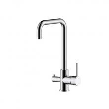 Смеситель д/кухни с высоким поворот. излив.с подключ к фильтру питьев воды Z35-29  Rossinka   9884
