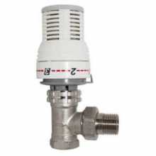 Клапан для радиатора RVC Pro 1/2 c терморег. прямой  6955 0