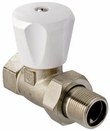 Регулирующий клапан для радиат. прямой 3/4 Aqualink   9299