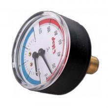 Термоманометр 6 бар,120 С,заднее подключение 1/2 0508.001   9904