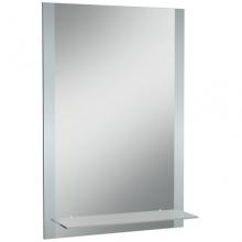 Зеркало / Айна Классика 01 400*600 с полкой мат.Домино 6416