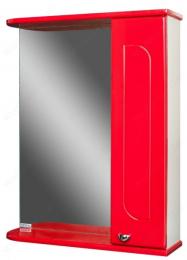 Шкаф-зеркало Радуга Красный 50 правый 7866
