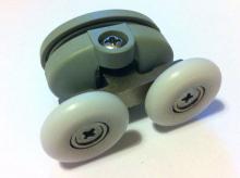 Ролик двойной верхний 23 мм стандарт(009)   9836