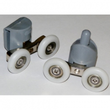 Ролик нижний двойной(S-4) 23 мм с кнопкой  7529 0