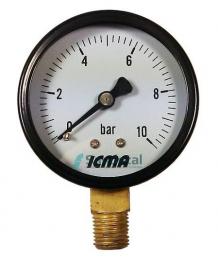 Манометр с радиальным подключение 0-10 АТМ 1/4  (244)  6274