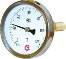 Термометр 100 мм(осевой) ТБП100/50ТЗ 1/2(0+160)С-2,5     9138 0