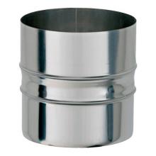 Адаптер котла ф200х200,1.0мм,нержавейка,н=120 мм   8883 0