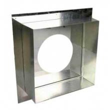 Декоративный ППУ ф200,теплый,Н+Оц,квадратный   9528