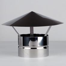 Зонт с застежкой, ДУ115, 0,5мм нерж   8368