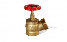 Клапан пожарный угловой d50 15Б3Р А52   9021