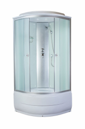 Душкабина Aguapulse 4302A  90*90*220 см (в/п) (fabric white)   9117