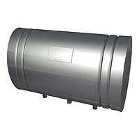 Бак для теплообменника Тритон 80л.AISI,439/1,0 мм.(3/4)    10674