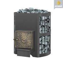 Печь банная Везувий Оптимум стандарт 14 дверка ДТ-3 б/в   10550