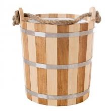 Запарник банный Woodson 20 л дуб-ясень с нержавеющей вставкой  10771 1