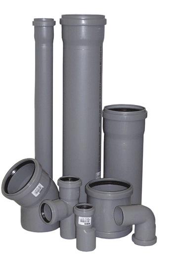 Канализационные фитинги и трубы